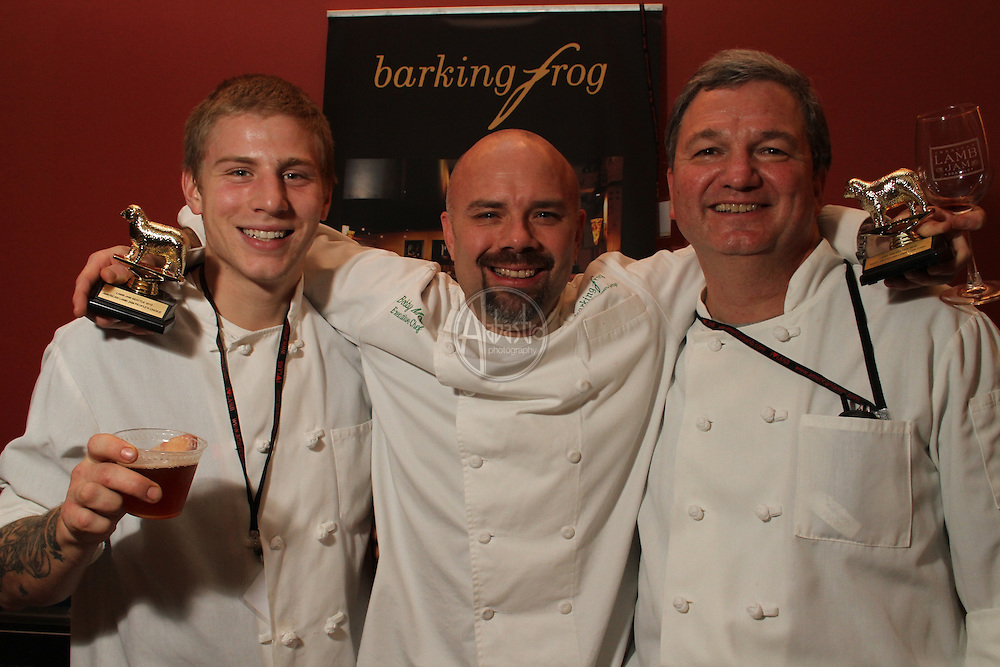"""American Lamb Jam Seattle """"Best In Show"""" and """"People's Choice"""" Award winner, Barking Frog Chef Bobby Moore."""