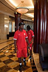 ABU DHABI - INTER/MUNDIAL - Equipe do S.C. Internacional após sessão de fitness no Rotana Beach Hotel. O S.C. Internacional participa de 8 a 18 de dezembro do Mundial de Clubes da FIFA, em Abu Dhabi. FOTO: Jefferson Bernardes/Preview.com
