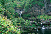 7 pools, Kipahulu, Hana Coast, Maui, Hawaii, USA<br />