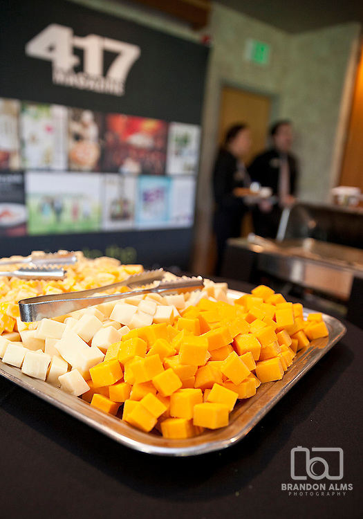 Cheese platter at a 417 Magazine Event