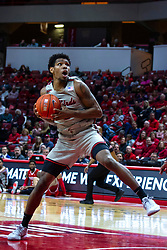 NORMAL, IL - February 26: Keith Fisher III during a college basketball game between the ISU Redbirds and the Bradley Braves on February 26 2020 at Redbird Arena in Normal, IL. (Photo by Alan Look)