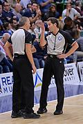 DESCRIZIONE : Campionato 2015/16 Serie A Beko Dinamo Banco di Sardegna Sassari - Umana Reyer Venezia<br /> GIOCATORE : Carmelo Paternicò Evangelista Caiazza<br /> CATEGORIA : Arbitro Referee<br /> SQUADRA : AIAP<br /> EVENTO : LegaBasket Serie A Beko 2015/2016<br /> GARA : Dinamo Banco di Sardegna Sassari - Umana Reyer Venezia<br /> DATA : 01/11/2015<br /> SPORT : Pallacanestro <br /> AUTORE : Agenzia Ciamillo-Castoria/L.Canu