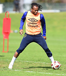 Cape Town-180823- Cape Town City player Edmilson Dove at training preparing for their up comingMTN 8 semi-final against Sundowns at Cape Town Stadum.Photographer :Phando Jikelo/African News Agency/ANA