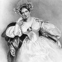 Comtesse Marguerite de Blessington (1789-1849) femme de lettres anglaise dessin par A.E.Chalon gravure par H.T.Ryal 19e siecle --- Marguerite countess of Blessington  (1789-1849) english woman of letters, engraving<br /> <br /> Copyright Rue Des Archives/Writer Pictures<br /> <br /> NO FRANCE, NO AGENCY SALES