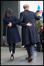 March 8, 2018 - Birmingham, United Kingdom - Image licensed to i-Images Picture Agency. 08/03/2018. Birmingham , United Kingdom. Prince Harry and Meghan Markle arriving for an event to celebrate International Women's Day at Millennium Point in Birmingham, United Kingdom. (Credit Image: © Stephen Lock/i-Images via ZUMA Press)