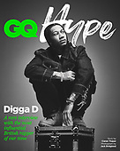 October 11, 2021 - EUR: Digga D Covers GQ Hype