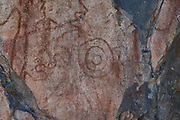 Photographs of Ancient Pictographs New Mexico