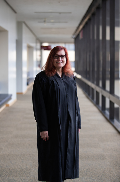 Alameda County Superior Court Judge Victoria Kolakowski  photographed Tuesday, September 18, 2018 in Oakland, Calif. Kolakowski is the first openly transgender person to serve as a trial court judge of general jurisdiction in the United States, the first elected to a judgeship, and the first to serve as any type of judge in California.