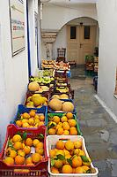 Grece, Cyclades, ile de Naxos, vielle ville de Hora (Naxos) // Greece, Cyclades islands, Naxos, old city of Hora (Naxos)