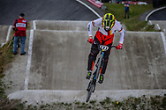 #227 (WEBSTER Liam) GER during round 4 of the 2017 UCI BMX  Supercross World Cup in Zolder, Belgium.