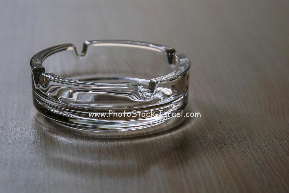 Transparent Glass Ashtray