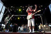 Slightly Stoopid performs at Suburbia Fest in Plano, Texas on May 4, 2014.