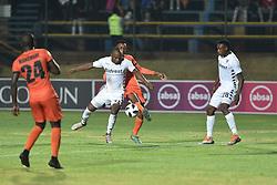 South Africa: Johannesburg: Bidvest Wits player Gift Motupa and Polokwane City Sammy Seabi player during the Absa Premiership at Bidvest Stadium, Gauteng.<br />Picture: Itumeleng English: African News Agency