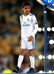 Real Madrid's Cristiano Ronaldo son Cristiano Ronaldo Jr