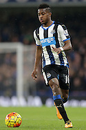 Rolando Aarons of Newcastle United in action. Barclays Premier league match, Chelsea v Newcastle Utd at Stamford Bridge in London on Saturday 13th February 2016.<br /> pic by John Patrick Fletcher, Andrew Orchard sports photography.