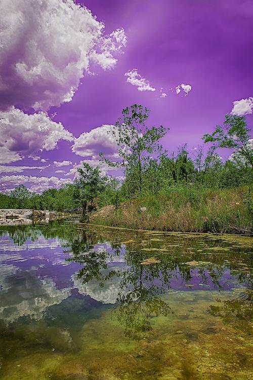 klondike park,reflection,lake,missouri,saint charles,trees,fall,autumn,leaves,sand,landscape,blue sky,clouds,mirror image,vibrant,scenic,park,wentzville