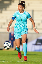 NEWPORT, WALES - Tuesday, June 12, 2018: Russia's captain Anna Kozhnikova during the FIFA Women's World Cup 2019 Qualifying Round Group 1 match between Wales and Russia at Newport Stadium. (Pic by David Rawcliffe/Propaganda)