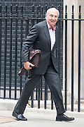 © Licensed to London News Pictures. 08/07/2014. Westminster, UK The Rt Hon. the Lord Young of Graffham DL,  arriving on Downing Street today 8th July 2014 for the weekly cabinet meeting. Photo credit : Stephen Simpson/LNP