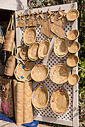 Bahamian basket shop in Dunmore Town, Harbour Island, The Bahamas