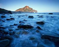 Mission Barrika area, Bay of Biscay, Basque country, Gaztelugatxe beach/coast
