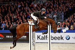 Billington James (GBR) - Etoulon VDL<br /> KWPN Stallion Selection - 's Hertogenbosch 2014<br /> © Dirk Caremans