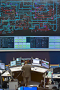 The National Grid electricity control room maps and monitors the flow of high voltage electric power around the entire UK network from their head quarters in Berkshire, United Kingdom.  (photo by Andrew Aitchison / In pictures via Getty Images)