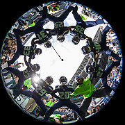 Seattle Seahawks Legion of Boom huddle up in a circle together during the NFL regular season game against the Miami Dolphins on Sunday, Sept. 11, 2016 in Seattle. The Seahawks won, 12-10. (Ric Tapia via AP)