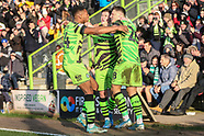 Forest Green Rovers v Salford City 180120