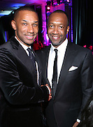 1 November 2010- New York, New York- l to r:  Johnny L. Taylor, Jr., President, & CEO, The Thurgood Marshall College Fund and Jeff Friday, CEO, FilmLife at The 23rd Annual Thurgood Marshall College Fund Awards Dinner held at The Sheraton NY Hotel & Towers on November 1, 2010 in New York City. Photo Credit: Terrence Jennings/Sipa