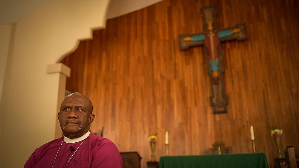 Bishop Lloyd Allen of the Episcopal Church of Honduras