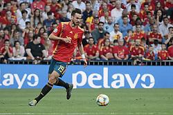Spain national team player Fabian Ruiz during UEFA EURO 2020 Qualifier match between Spain and Sweden at Santiago Bernabeu Stadium in Madrid, Spain. June 10, 2019. Photo by A. Perez Meca/Alterphotos/ABACAPRESS.COM