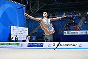 Bjelik Adisa is an individual rhythmic gymnast from Bosnia Herzegovina.