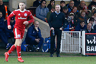 Ipswich Town Manager Paul Lambert during the The FA Cup 3rd round match between Accrington Stanley and Ipswich Town at the Fraser Eagle Stadium, Accrington, England on 5 January 2019.