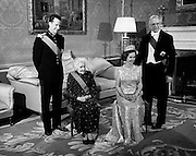 Belgian Royals dine at Áras an Uachtaráin.14.05.1968