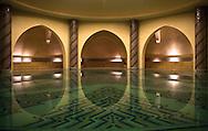 Public baths at the Hassan II Mosque, Casablanca, Morocco