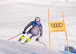 22.01.2019, Streif, Kitzbühel, AUT, FIS Weltcup Ski Alpin, Abfahrt, Herren, 1. Training, im Bild Bryce Bennett (USA) // Bryce Bennett of the USA during the 1st Training of mens downhill of FIS Ski Alpine Worldcup at the Streif in Kitzbühel, Austria on 2019/01/22. EXPA Pictures © 2019, PhotoCredit: EXPA/ Johann Groder