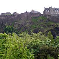 Europe, Great Britain, United Kingdom, Scotland, Edinburgh. Edinburgh Castle.