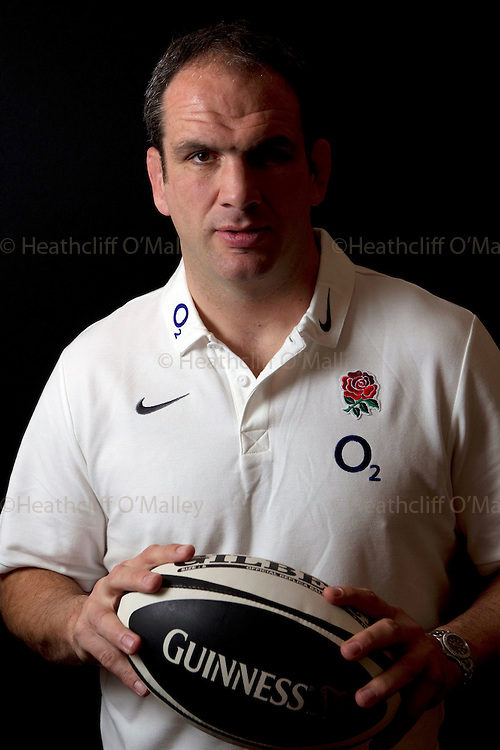 Mcc0029913 . Daily Telegraph..Sport..England Rugby Team manager, and former player Martin Johnson photographed at Penny Hill Park..Bagshot 7 March 2011