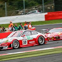 #59, Porsche 997 GT3 RSR, Trackspeed Racing, Driven by: Richard Williams (GB)/David Ashburn (D)/Tim Sugden (GB)/Xavier Pompidou (F) at the 24H of Spa 2008