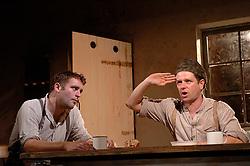 HARVEST <br /> Royal Court Theatre<br /> Press photocall September 14th, 2005 <br /> <br /> l to r <br /> Gareth Farr<br /> Matthew Dunster