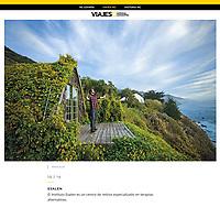 Kodiak Greenwood at Esalen for National Geographic Spain.