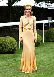 Vogue Williams during Ladies Day of the 2019 Invested Derby Festival at Epsom Racecourse, Epsom.