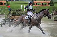 VANIR KAMIRA ridden by Piggy French taking part in the Equitrek CCI*** cross country on day three of the Bramham International Horse Trials 2017 at Bramham Park, Bramham, United Kingdom on 11 June 2017. Photo by Mark P Doherty.