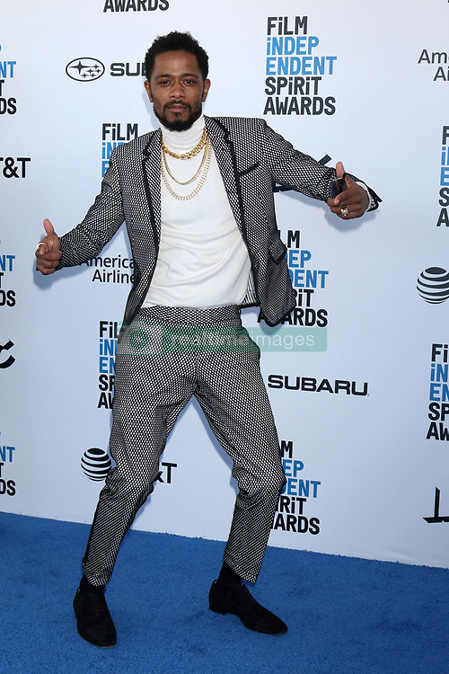 February 23, 2019 - Santa Monica, CA, USA - LOS ANGELES - FEB 23:  Lakeith Stanfield at the 2019 Film Independent Spirit Awards on the Beach on February 23, 2019 in Santa Monica, CA (Credit Image: © Kay Blake/ZUMA Wire)