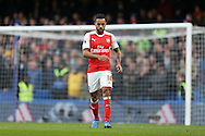 Theo Walcott of Arsenal looking on. Premier league match, Chelsea v Arsenal at Stamford Bridge in London on Saturday 4th February 2017.<br /> pic by John Patrick Fletcher, Andrew Orchard sports photography.