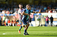 Wycombe Wanderers Luke O'Nien(17) during the EFL Sky Bet League 2 match between Wycombe Wanderers and Stevenage at Adams Park, High Wycombe, England on 5 May 2018. Picture by Alistair Wilson.