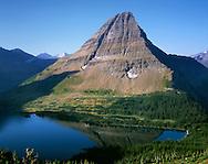 Hidden Lake, Nestled Below A Perfect Glacial Horn, Glacier National Park, Montana