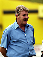 Copyright Sportsbeat. 0208 8768611<br />Picture: Henry Browne<br />Date: 19/07/2003<br />Burton Albion v Birmingham City Pre season friendly<br />Steve Bruce - City manager before the game