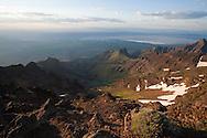 Steens mountain landscape