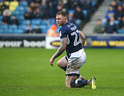 March 30, 2018 - London, England, United Kingdom - Aiden O'Brien of Millwall.during Championship match between Millwall against Nottingham Forest at The Den stadium, London  England on 30 March  2018. (Credit Image: © Kieran Galvin/NurPhoto via ZUMA Press)